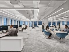 Investment Firm Offices - New York City - Office Snapshots Corporate Office Design, Corporate Interiors, Workplace Design, Office Interior Design, Luxury Interior Design, Office Interiors, Corporate Offices, Office Designs, Loft Office