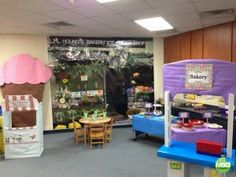 Ice Cream Shop and Bakery Dramatic Play Center for Kindergarten. So much fun!