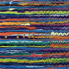 Missoni Test I - Original by Alex Echo Available Now from Westover Gallery £995