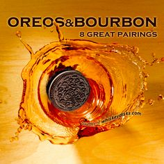 8 Great Bourbon & Oreo Pairings - Posted by Hammerstone's WhiskeyDisks™ makers of the world's best whiskey stones.