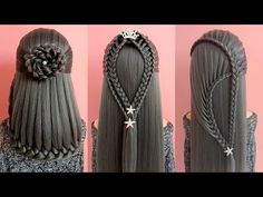 30 Amazing Hair Transformations - Easy Beautiful Hairstyles Tutorials 🌺 Best Hairstyles for Girls Easy And Beautiful Hairstyles, Cool Hairstyles For Girls, Girl Hairstyles, Braided Hairstyles, Summer Hairstyles, Pinterest Hair, Hair Transformation, Hair Art, Hair Videos