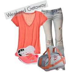 Weekend Away, created by lang-kris on Polyvore