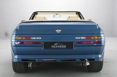 ASTON MARTIN VOLANTE ZAGATO RHD (1989) Aston Martin Lagonda, Aston Martin Volante, Aston Martin V8, Salisbury, Vehicles, Motors, Metallic, Blue, Cars