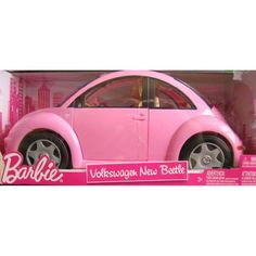 Barbie Volkswagen New Beetle Vehicle Car & Doll « Game Time Home