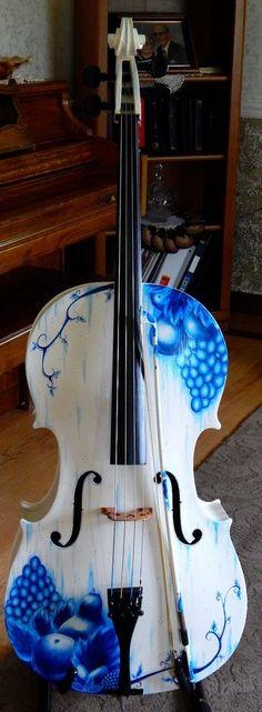 full size, vintage cello #ArtDeco