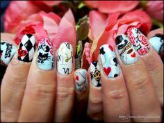 nail art /kawaii /Wonderland