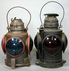 Old Railroad Lanterns | 488: Two Old Railroad Train Lanterns
