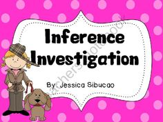 Inference Investigation product from Jessi-039-s-Archive on TeachersNotebook.com