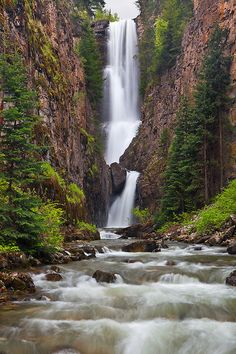Mystic Falls - Lake Fork of the San Miguel River Near Telluride, Colorado. Summer Girl's trip!!!