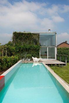 Denis Ortmans House - Architecture by Dethier