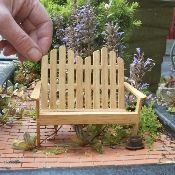 Miniature Garden Furniture from Two Green Thumbs Miniature Garden Center.