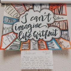 Have students provide answers to that question at the beginning of the year. Thought: 1 class poster or students create individual posters to display Middle School Ela, Middle School Classroom, Beginning Of The School Year, First Day Of School, Art School, Ela Classroom, Middle School Crafts, Classroom Ideas, Future Classroom