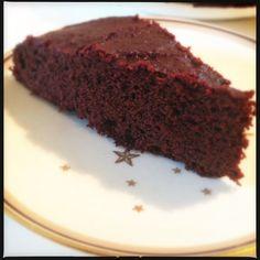 Chokoladekage med rødbeder