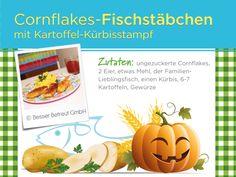 Eure Kinder werden sie lieben... Cornflakes, Cantaloupe, Fruit, Food, Healthy Eating For Kids, Clean Foods, Food Food, Simple, Essen