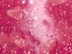 wallpaper | Roze hartjes wallpaper
