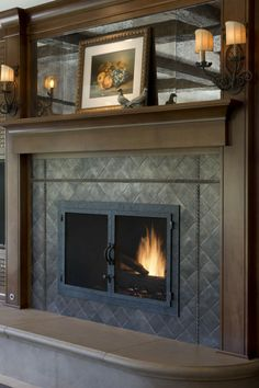 A Style Fashionable Interview With Kathryn Chaplow | Pierre Frey, Fireplace  Surrounds And Black Granite