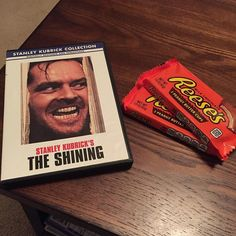 Happy Halloween!! We finally snagged a copy of The Shining at the grocery store today! So guess what we're watching tonight!!  And I discovered that Reese's Peanut Butter Cups are gluten-free!! Made my day! Have a great night everyone!