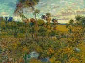 A newly discovered master work by Vincent Van Gogh in Amsterdam.