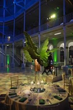 Wedding and Floral Event Styling from Planet Flowers: National Museum of Scotland - Jungle City: