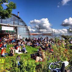 Noorderlicht Café - NDSM - Amsterdam #cloudporn