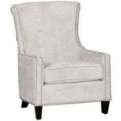 "Acacia 31"" Mercury Upholstered Accent Chair"