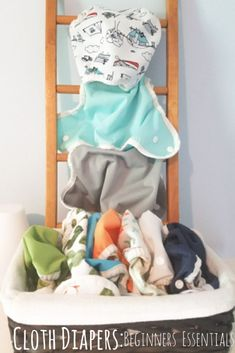 Cloth Diapers: Beginners Guide | Beginners Essentials | 101  A guide for everything you need when starting out with cloth diapers.