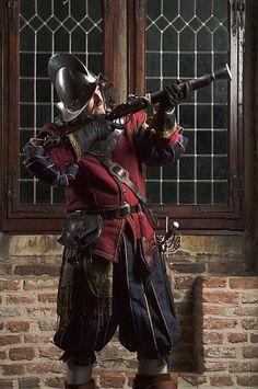 ca. 1630 reproduction - 80 Year's War Spain-Holland, by www.olsderart.nl: