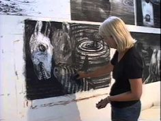 Barbara Moody Drawing Video - YouTube