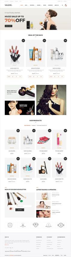 Valeri is a beautiful and professional 6in1 responsive #Prestashop theme for #webdesign #beauty SPA and salons or selling healthcare products eCommerce websites download now➩  https://themeforest.net/item/valeri-responsive-prestashop-theme-for-beauty-spa-and-salons/19290487?ref=Datasata