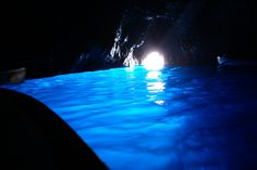 Blue Grotto Capri Italy  It leaves you speechless