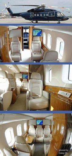 Emmy DE * SIKORSKY S-92 Helicopter - luxury at its finest!