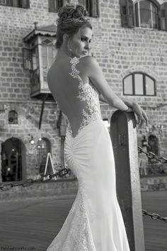 "Galia Lahav wedding dress from ""La Dolce Vita"" 2014 Bridal collection"