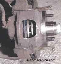 como cambiar pastillas de frenos, ford aerostar bronco 93