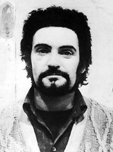 "Peter Sutcliffe is a British serial killer who was dubbed ""The Yorkshire Ripper"". In 1981 Sutcliffe was convicted of murdering 13 women and attacking seven others. He is currently serving 20 sentences of life imprisonment in Broadmoor Hospital.   http://en.wikipedia.org/wiki/Peter_Sutcliffe"