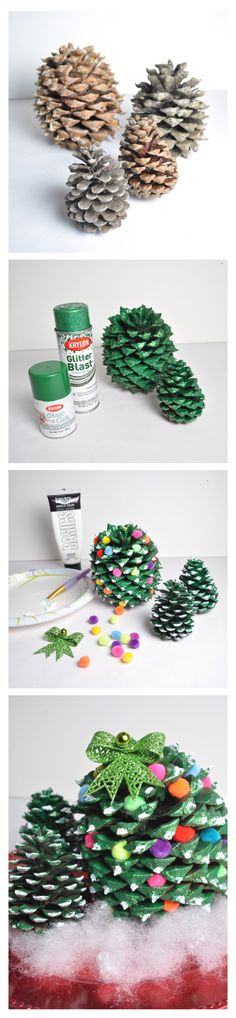 Pine Cone Trees Tutorial 600