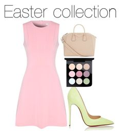 """Easter collection"" by shaelyn188 on Polyvore featuring Givenchy, Christian Louboutin, MAC Cosmetics and True Decadence"