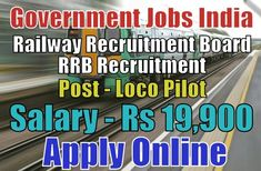 Railway Recruitment Board RRB Recruitment 2018
