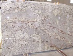 White Spring Granite Kitchen Countertops
