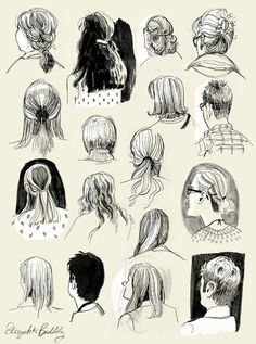 Some backs of the heads of people attending the SCBWI summer conference in Los Angeles a couple weekends ago.