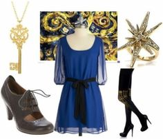 Doctor Who Tardis outfit by kelly