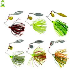 Buy JSM 10 pcs/lot fishing spoon lures spinner bait for Bass Pike fishing wobbler metal baits spinnerbait isca artificial hard lure Bass Fishing Bait, Bass Lures, Pike Fishing, Bass Fishing Tips, Fly Fishing, Fishing Games, Fishing Guide, Fishing Shirts, Fishing Boats