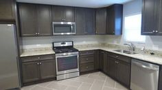 205 Hickory Terrace, Island Lake, IL, 60042 - MLS# 09637621 - Estately Kitchen Remodel, Terrace, Kitchen Cabinets, Island, House, Home Decor, Ideas, Houses, Balcony