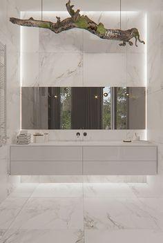 White apartment Sergey Makhno Architects on Behance