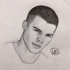(@vickrarts) en Instagram: @zabdieldejesus Jesus Drawings, Love Drawings, Pencil Drawings, Beginner Painting, Boy Art, Art Inspo, Sketches, Instagram, Celebrities