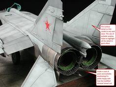 scalespot.com - On The Bench - Kittyhawk 1/48 MiG-25 Foxbat E Build Review (KH80119)