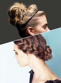 Braids, half-updos, and loose, unkempt looks have taken over prom hairstyles. Nothing is off-limits and the more experimental the look, the better.