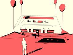 Brilliant 100 Days Looping Gif Project by Nicola Gastaldi – Fubiz Media
