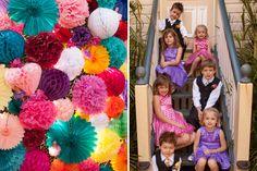 Retro Backyard Wedding – Sam & Brendan » The Vintage and Handmade Bride / Decorations from Lark