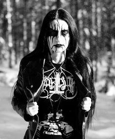 Metal Girl, Black Metal, Jon Snow, Goth, Female, History, Black Clothes, Hessian, Painting