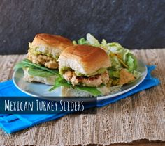 Mexican Turkey Sliders